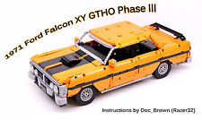 1971 Ford Falcon XY GTHO Phase  *INSTRUCTIONS ONLY* Lego Technic Instructions