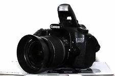 Canon EOS 60D 18 MP DSLR mit Canon EF-S 18-55mm IS Objektiv Live View Video OVP