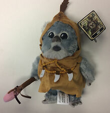 "New Disney Parks Star Wars 2016 Rogue One KAINK the Ewok 9"" Plush"