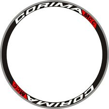 CORIMA MCC Carbon Wheels Rim Deals Stickers Replacement Kit FOR TWO RIMS 700C
