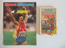 CAITLYN BRUCE JENNER Sports Illustrated 1976 + 1984 USA Olympics Book by Eller