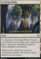 4x Evolving Wilds (Sich entfaltende Wildnis) Conspiracy: Take the Crown Magic