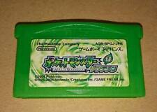GBA Pokemon Leaf Green Japan Gameboy Advance F/S