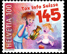 Zwitserland / Suisse - Postfris/MNH - 50 years of Tox Info Suisse 2016