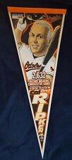 CAL RIPKEN JR IRON MAN PENNANT LIMITED 1597/2632 RARE BALTIMORE ORIOLES