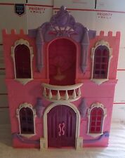 HTF Disney Princess Enchanted Castle Palace Dollhouse Play Set Fits Barbie Dolls