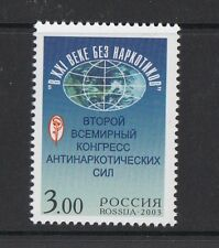 Russia 2003 2 congresso Il XX secolo senza droga 6812 Mnh