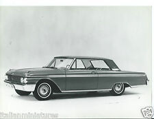 Ford galaxie 500 tudor hardtop 1962 original press photograph
