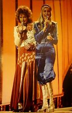 ABBA clipping Agnetha Faltskog sexy color photo '75 knickers Anni-Frid Lyngstad