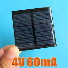 2pcs x 4V 60mA 0.25W Mini solar Panel small solar cell PV module for Solar DIY