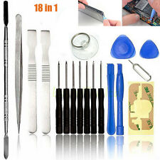 18 IN1 Mobile Repair Opening Tools Kit Set Pry Screwdriver For Cell Phone iPhone
