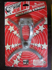 1/6 BLISTER  1979 GI  MAN GROUP ACTION JOE GENERATEUR D'ENERGIE