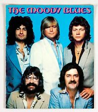 The Moody Blues 1978 Octave Tour Program Book