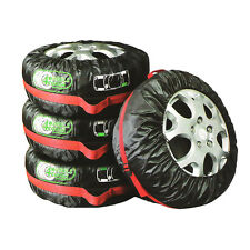 4x universal offroad fit 13 to 17 car wheel cover Storage Carry Bag Protector