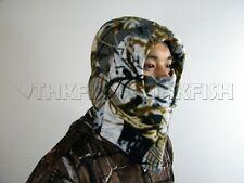 New! Winter White Camo Camouflage Fleece Head Gear Wear Fishing Hunting Mask