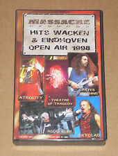 HITS WAKEN & EINDHOVEN OPEN AIR 1998 (SKYCLAD, FATES WARNING)- VIDEOCASSETTA VHS