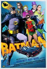 BATMAN 1966 (DVD) SUPER-HERO BATMAN CAMP TV SHOW