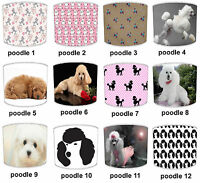 Poodle Dog Print Table Lamp Shades Or Ceiling Light Shades Lampshades Pendants
