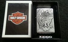 BRAND NEW Genuine Zippo Harley Davidson Made In the USA Eagle Lighter