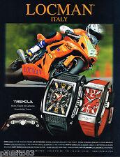 PUBLICITE ADVERTISING 065  2007  LOCMAN  montre TREMILA
