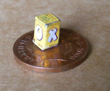 1:12 Empty Chicken Oxo Cube Packet Dolls House Miniature Kitchen Food Accessory