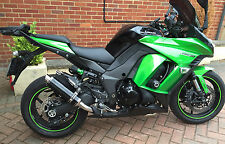 Kawasaki Z1000SX 10-16 SP Engineering Satin Black Round Moto GP XLS Exhausts
