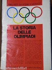 LA STORIA DELLE OLIMPIADI DAL 1896 AL 1972 G Carretto B Pieggi L Pizzinelli 1968