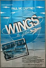 Affiche WINGS OVER THE WORLD Jack Priestley PAUL McCARTNEY 80x120cm *