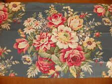 """RALPH LAUREN-VINTAGE """"KIMBERLY""""  NEW VALANCE IN PACKAGE-100% COTTON-BLUE FLORAL"""