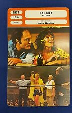 US Neo-Noir Boxing Drama Fat City Stacy Keach French Film Trade Card