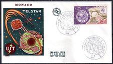 MONACO FDC 1965 - CENTENAIRE DE L'UIT 668 - pn10