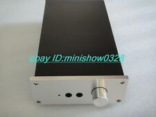 Aluminium chassis case for audio lehmann headphone Amplifier preamp enclosure