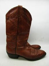 TONY LAMA BC8 Men's Size 12 A Cowboy Western Work Brown Leather Boots