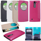 Nillkin PU Leather Smart Cover Flip Quick Window Case Wake UP For LG G4c H525N