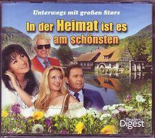 In der Heimat ist es am schönsten  -  Reader's Digest  4 CD Box  OVP