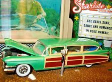100% HOT WHEELS 1959 CADILLAC SURF WOODY WAGON LIMITED EDITION 1/64