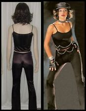 Lot of 10 Dance Costumes Chain Link Biker Rebel Pants & Top 6-CM,1-CL,2-AS,1-AL