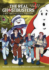 The Real Ghostbusters: The Animated Series - Volume 3 (DVD, 2016) NEW