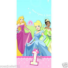 Disney Princess 1st Birthday Plastic Tablecover 1pc Party Decoration Supplies