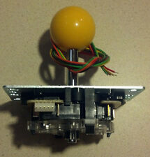 Sanwa JLF-TP-8YT Arcade Jamma game Joystick (Yellow) Original Brand New