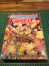 CHAINSAW WARRIOR - Games Workshop - Citadel - RARE 1980's - Solo Board Game