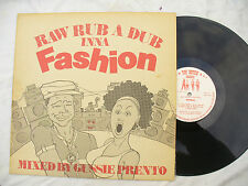 RAW RUB A DUB INNA FASHION LP GUSSIE PRENTO top notch 001 33rpm reggae