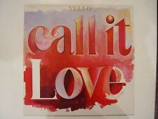 "YELLO Call it Love 12"" Vinyl Maxi Singel NM- Vertigo 888 311-1 Techno Elektro"