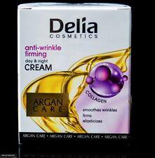 Delia Argan Care Antifalten Tages Nachtcreme Arganöl Kollagen 50ml