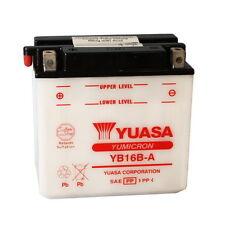 BATTERIE YUASA YB16B-A 12V/16AH Suzuki VS800 Intrus à partir de 2005 Al 2009