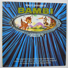 VINTAGE! 1966 Disneyland Records Bambi Magic Mirror Book and Record #3903