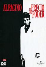 PELICULA DVD SCARFACE EL PRECIO DEL PODER + FUNDA HOLOGRAFICA RELIEVE