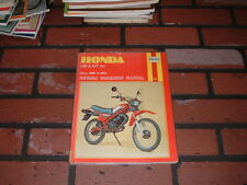 HAYNES MANUAL FOR HONDA MB50 & MT50 MOPEDS. 1980-1982. EX-LIBRARY BOOK.