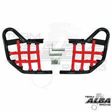 Yamaha YFZ450R YFZ 450R   Nerf Bars   Alba Racing  Black/Red 251 T1 BR