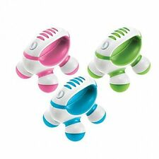 Homedics PM-50 Hand Held Mini Massager, Battery Operated (Assorted Colors)